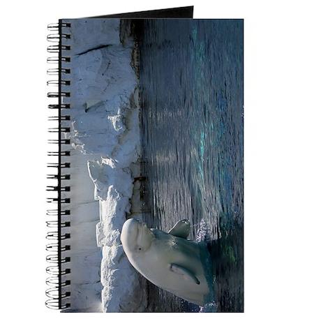Beluga Whale jumping 2 Journal