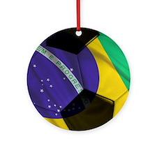 brazil mousepad Round Ornament