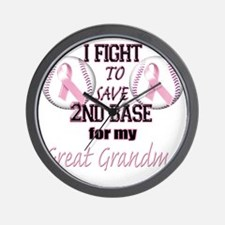 I Fight to Save 2nd Base for my Great G Wall Clock