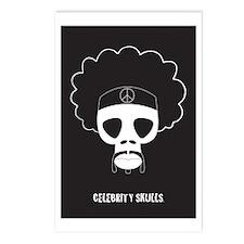SKULL Hendrix Postcards (Package of 8)
