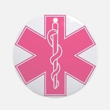 staroflife-pink Round Ornament