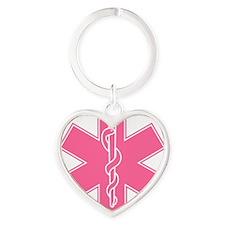 staroflife-pink Heart Keychain