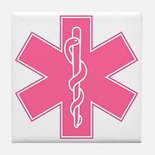 staroflife-pink Tile Coaster