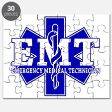 star of life - blue EMT word Puzzle