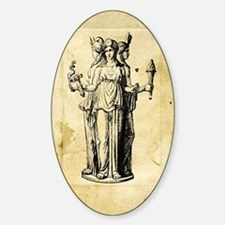 Hecate Sticker (Oval)