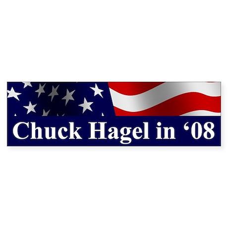 Chuck Hagel Bumper Sticker