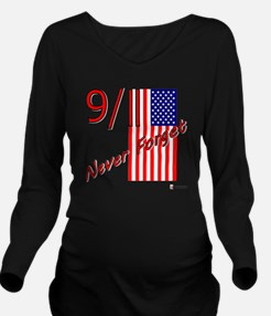911 never forget Long Sleeve Maternity T-Shirt