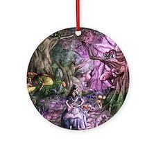 Alice in Wonderland 1 Round Ornament