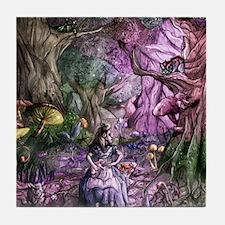 Alice in Wonderland 1 Tile Coaster