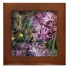 Alice in Wonderland 1 Framed Tile