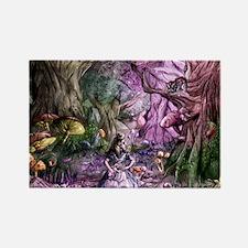 Alice in Wonderland 1 Rectangle Magnet
