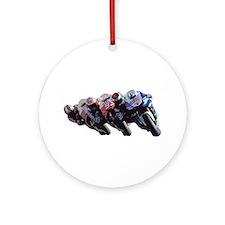 moto Ornament (Round)
