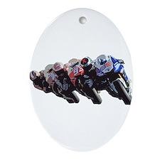 moto Ornament (Oval)