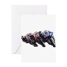 moto Greeting Cards