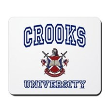 CROOKS University Mousepad