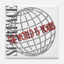 tthe-world-is-yours Tile Coaster