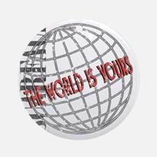 tthe-world-is-yours Round Ornament