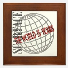 tthe-world-is-yours Framed Tile