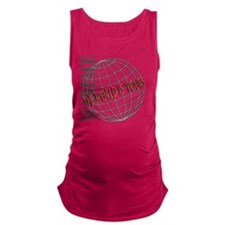 tthe-world-is-yours Maternity Tank Top