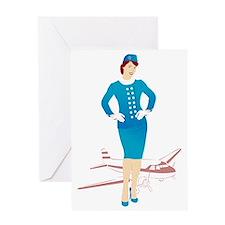 Flight Attendant 1 Greeting Card