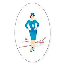 Flight Attendant 1 Decal