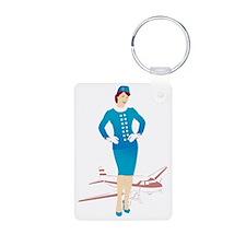 Flight Attendant 1 Keychains