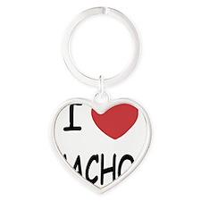 NACHOS Heart Keychain