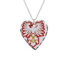 odin eagle Necklace Heart Charm