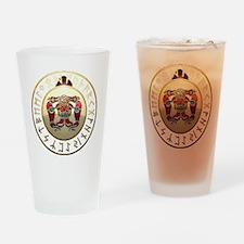 sutton hoo rune shield. Drinking Glass