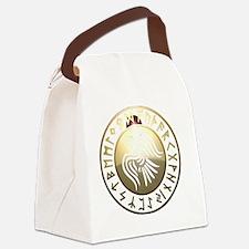 rune raven Canvas Lunch Bag