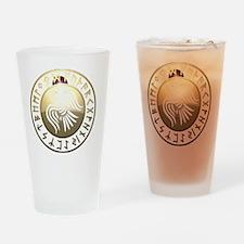 rune raven Drinking Glass