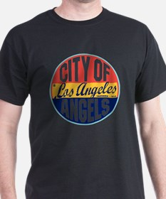 Los Angeles Vintage Label W T-Shirt