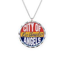 Los Angeles Vintage Label W Necklace