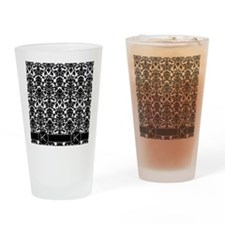 k_flip_flops_monogram_02 Drinking Glass