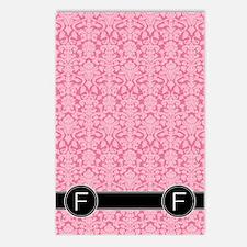 f_flip_flops_monogram_04 Postcards (Package of 8)