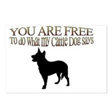 You are Free 2 Postcards (Package of 8)