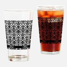 S_flip_flops_monogram_02 Drinking Glass