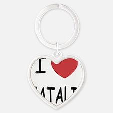 NATALIE Heart Keychain