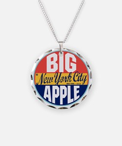 New York Vintage Label W Necklace