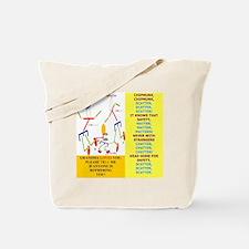 Chipmunk-G M0M 3 Tote Bag