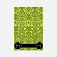 h_flip_flops_monogram_03 Rectangle Magnet
