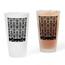 J_flip_flops_monogram_02 Drinking Glass
