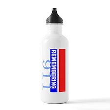 remembering 911 Water Bottle