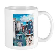 Roofs of Paris Mugs
