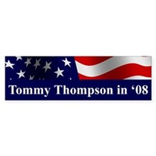 Tommy Thompson Bumper Bumper Sticker