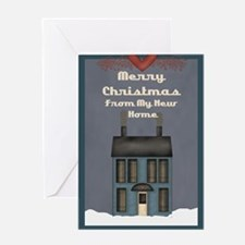 Cool New home christmas Greeting Card