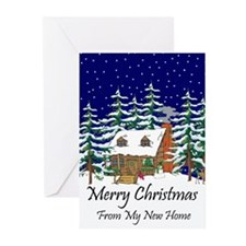 Funny New home Greeting Cards (Pk of 20)