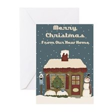Unique New home Greeting Cards (Pk of 20)
