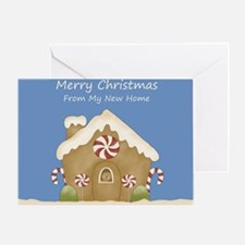 Funny New home christmas Greeting Card