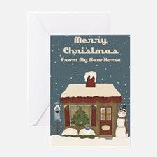 New home christmas Greeting Card